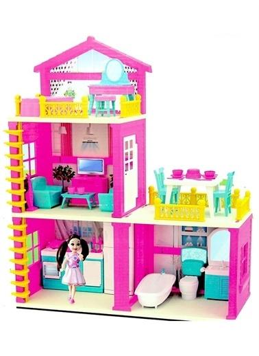 Dede Lola'Nın 3 Katlı Rüya Evi Seti Kız Çocuk Oyuncak Renkli